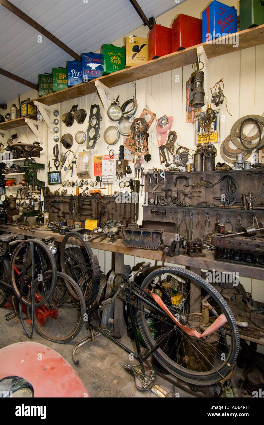 Rural Life Centre - Tilford - Surrey - UK - Old workshop - Stock Image