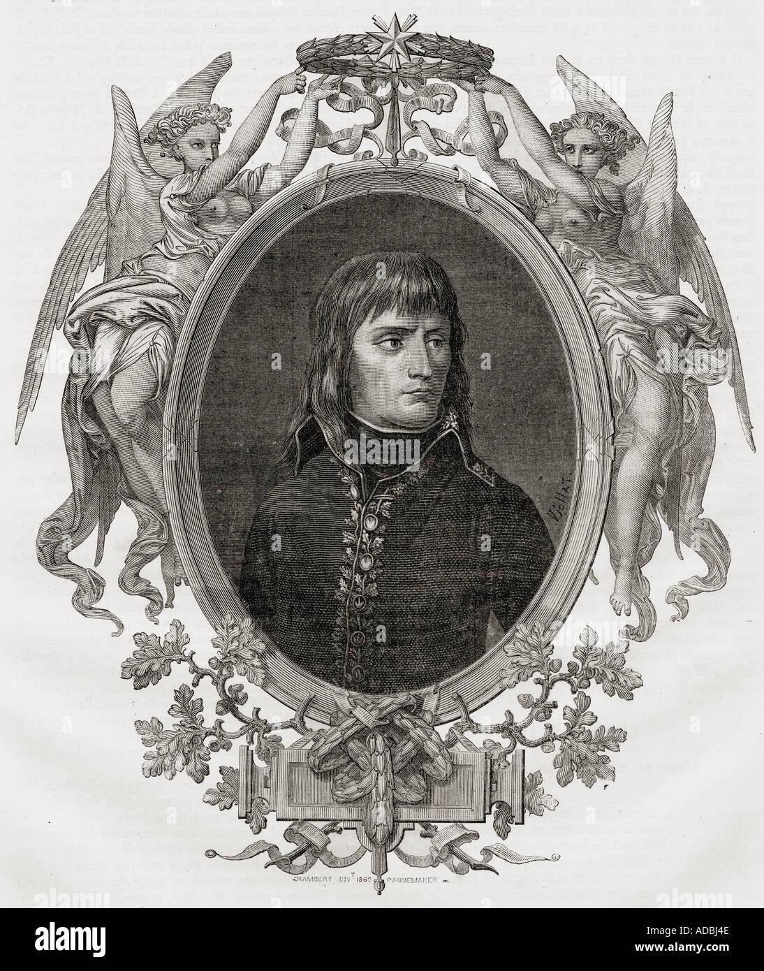 Napoleon Bonaparte at the seige of Toulon December 1793 Napoleon Bonaparte 1769 1821 Emperor of the French - Stock Image