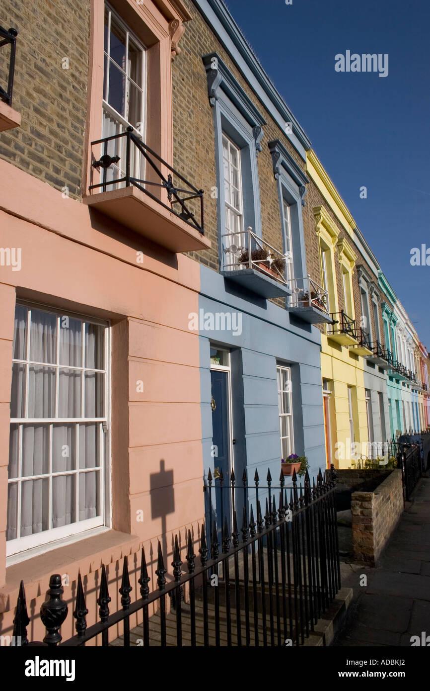 Dewsbury Terrace Camden Town London England - Stock Image