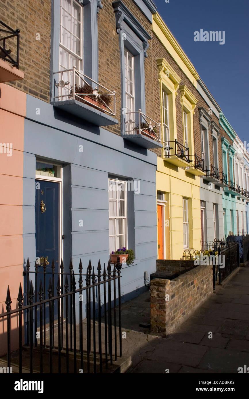 Camden Town: Dewsbury Terrace Camden Town London England Stock Photo