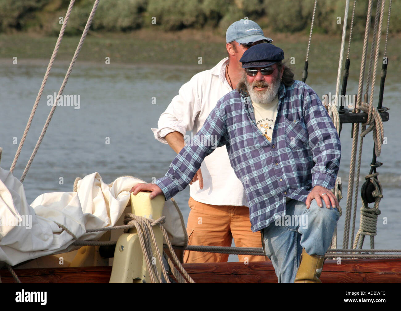 Oyster Smack 92CK Our Boys at Maldon - Stock Image