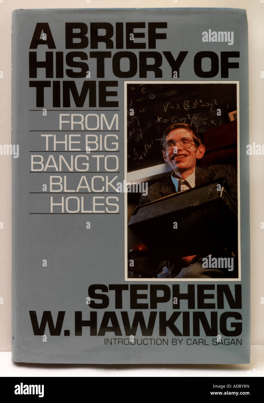 A Brief History Of Time By Stephen Hawking Stock Photo