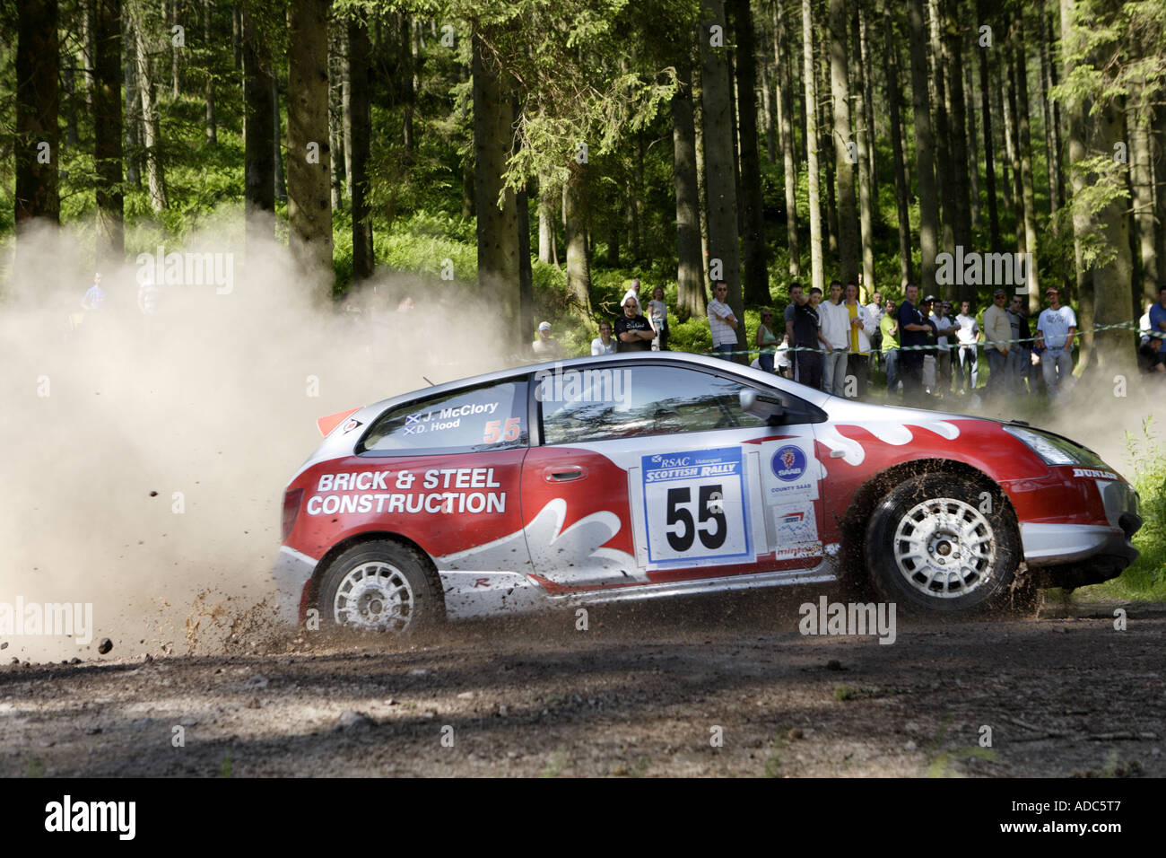 RSAC Scottish Rally - Stock Image