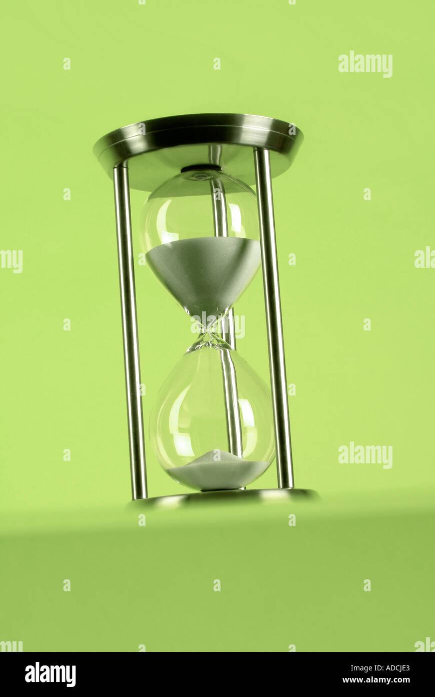 hour glass Sanduhr alamyprorank - Stock Image