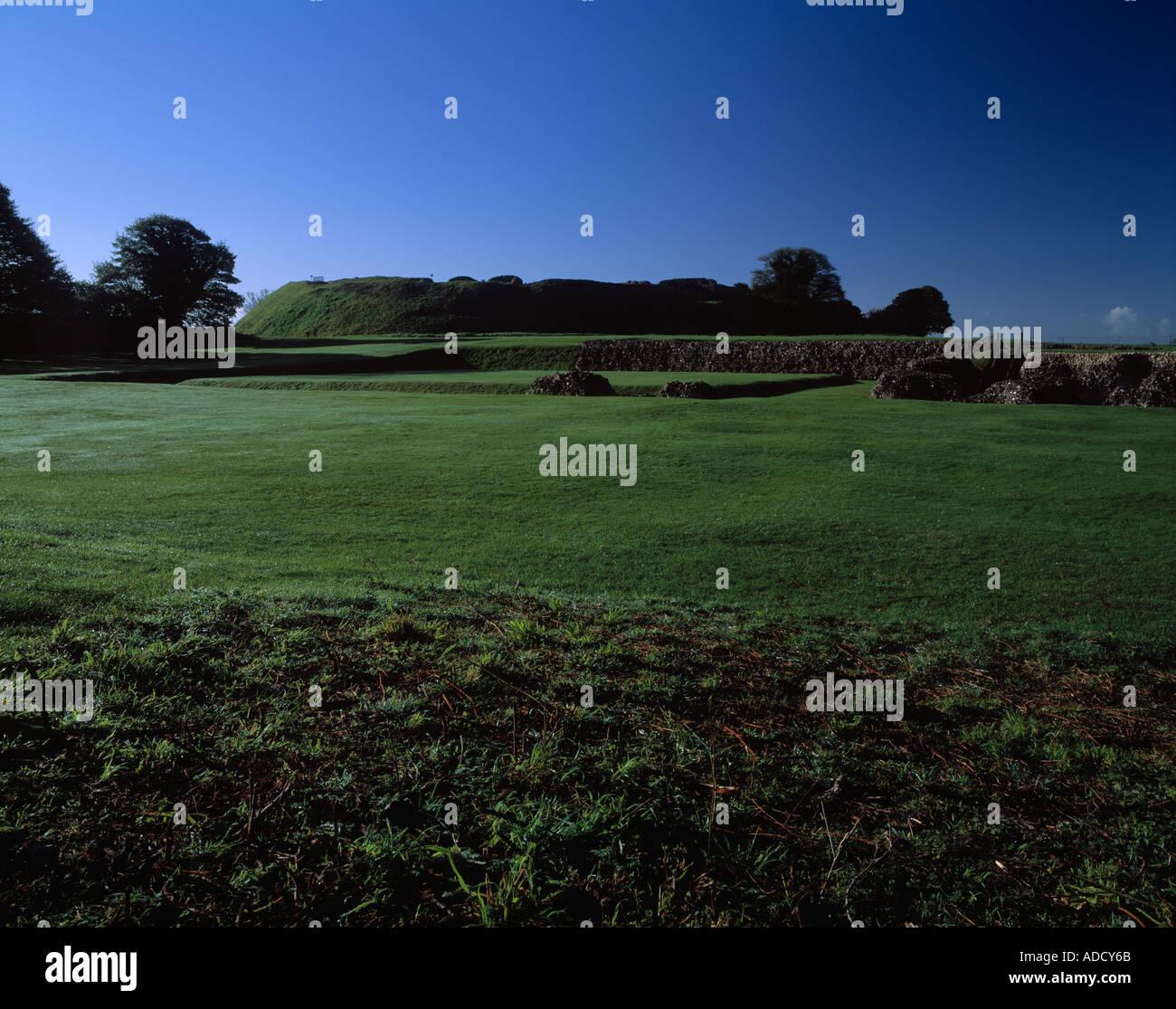 Old Saum Hill Fort near Salisbury Wiltshire UK Stock Photo