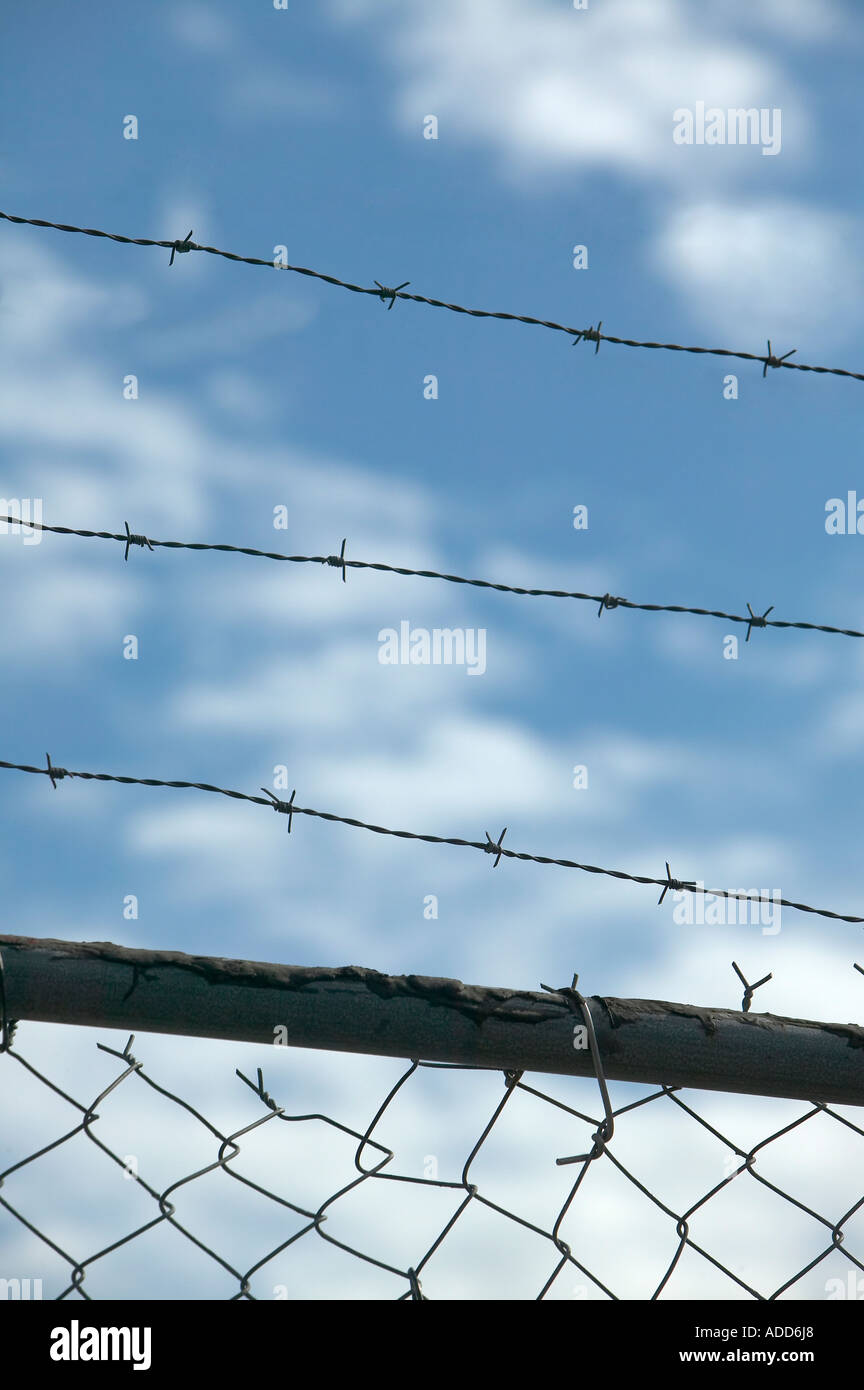 Tall Chain Link Fence Stock Photos & Tall Chain Link Fence Stock ...