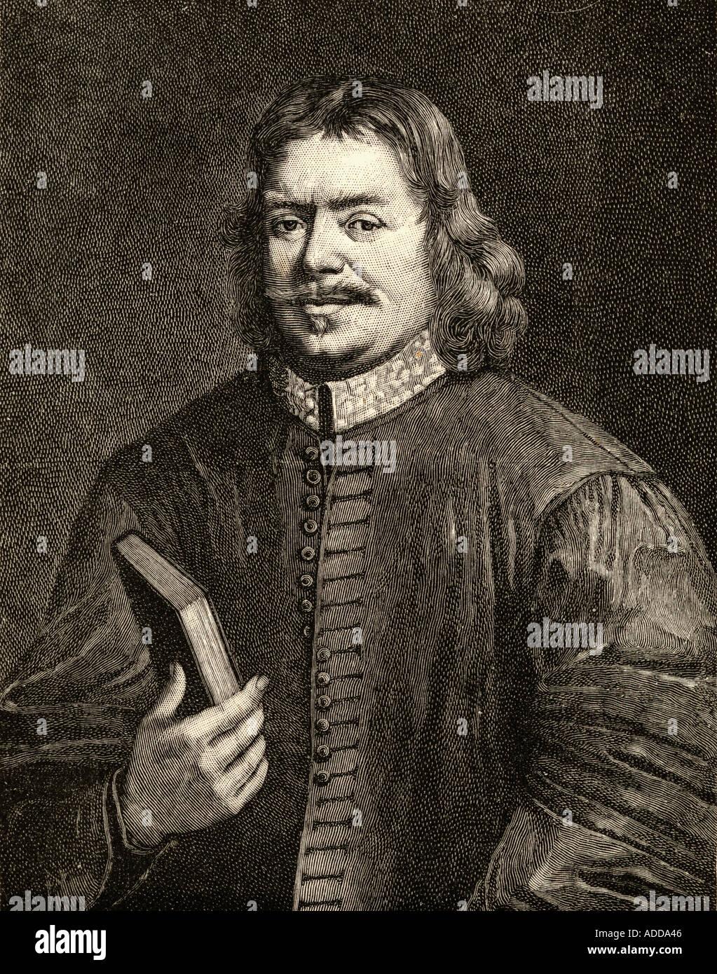 John Bunyan, 1628 -1688.  English writer and Puritan preacher. Author of The Pilgrim's Progress. - Stock Image