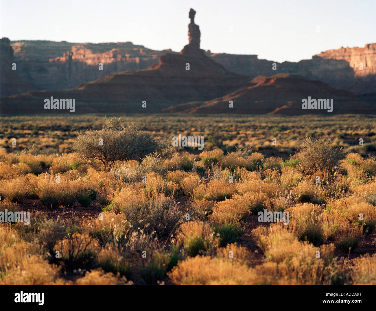 Valley of the Gods Utah - Stock Image
