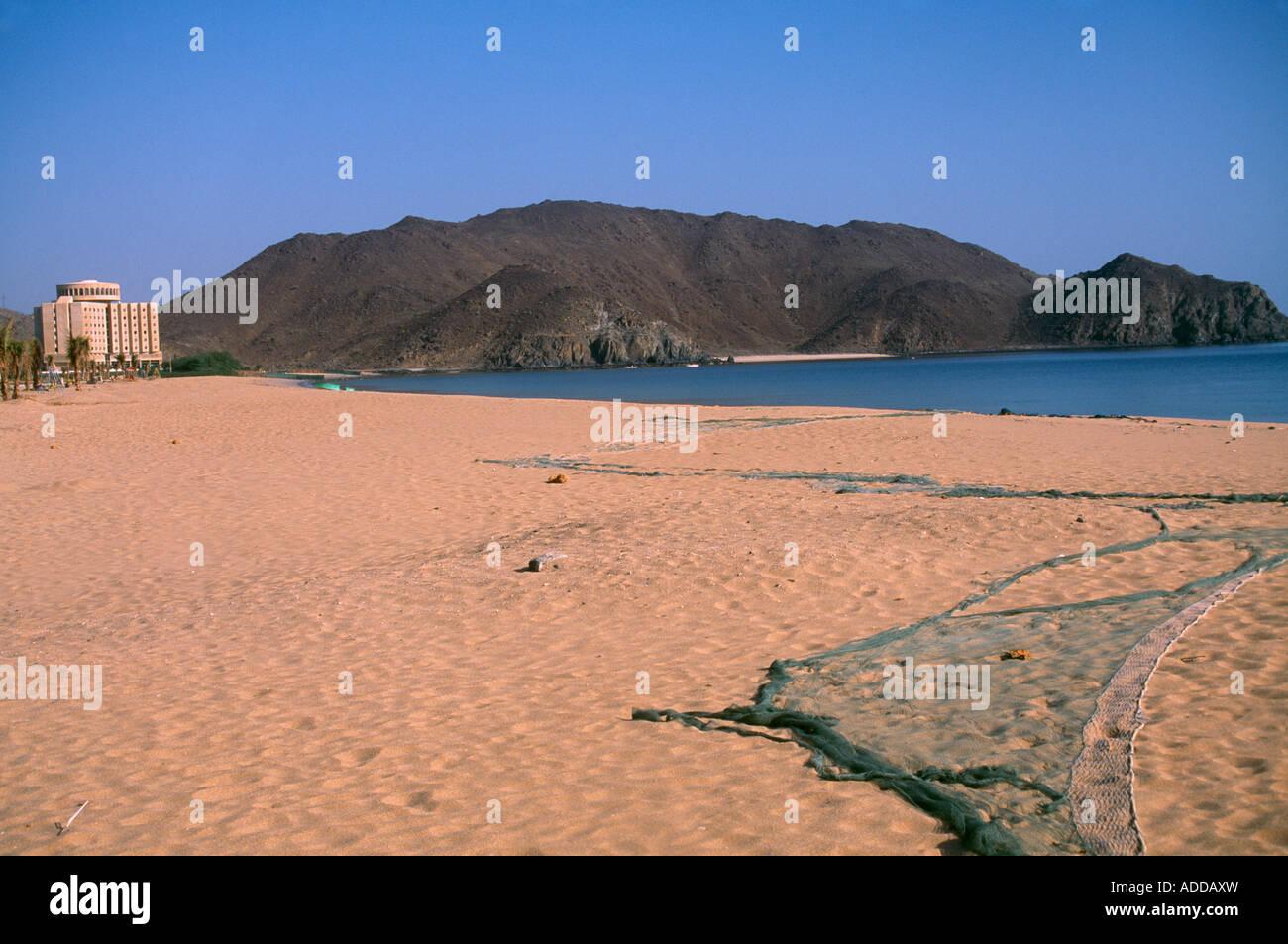 Sharjah UAE Oceanic Hotel Khor Fakkan - Stock Image