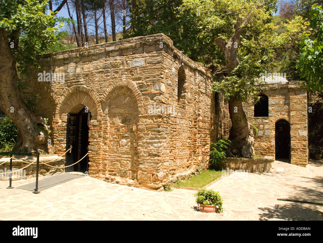 Meryemana, House of the Virgin Mary pilgrimage site, Turkey - Stock Image