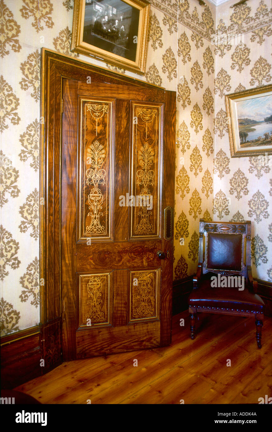 Victorian Interior Door Stock Photos Victorian Interior Door Stock