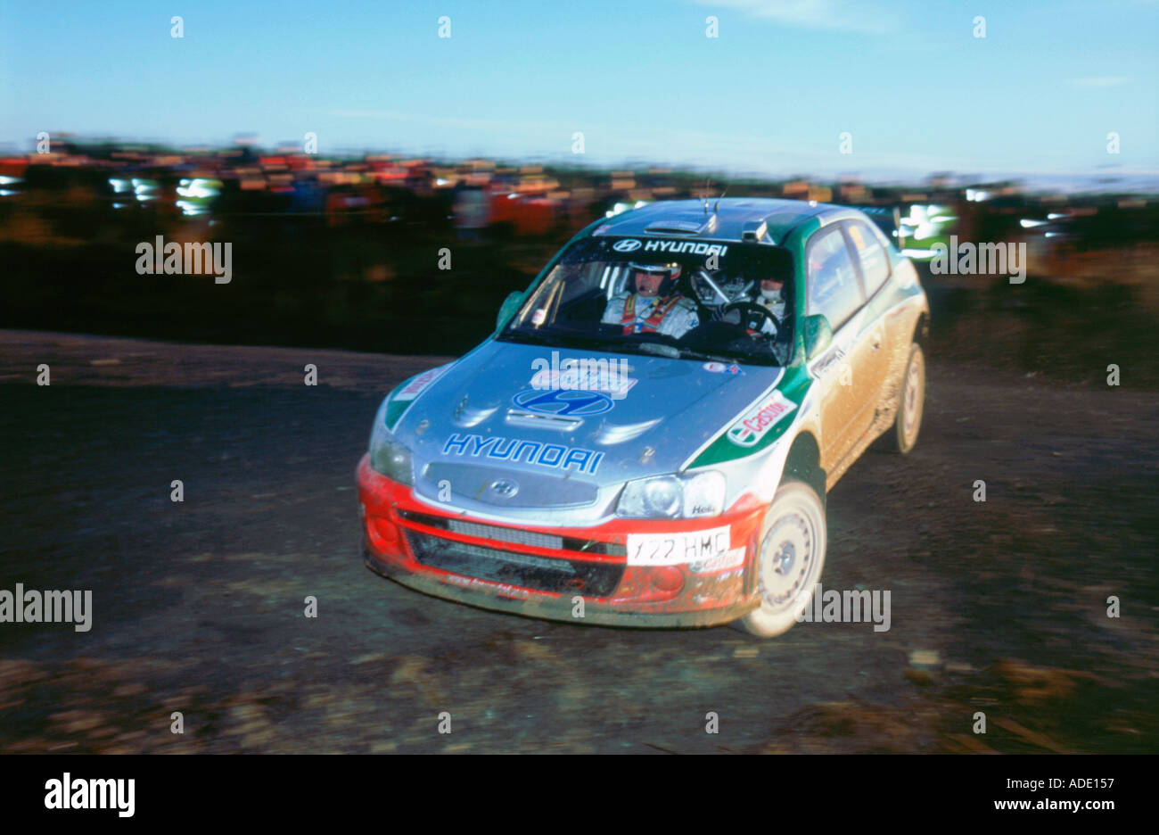 Hyundai Rally Car Stock Photos Hyundai Rally Car Stock Images Alamy