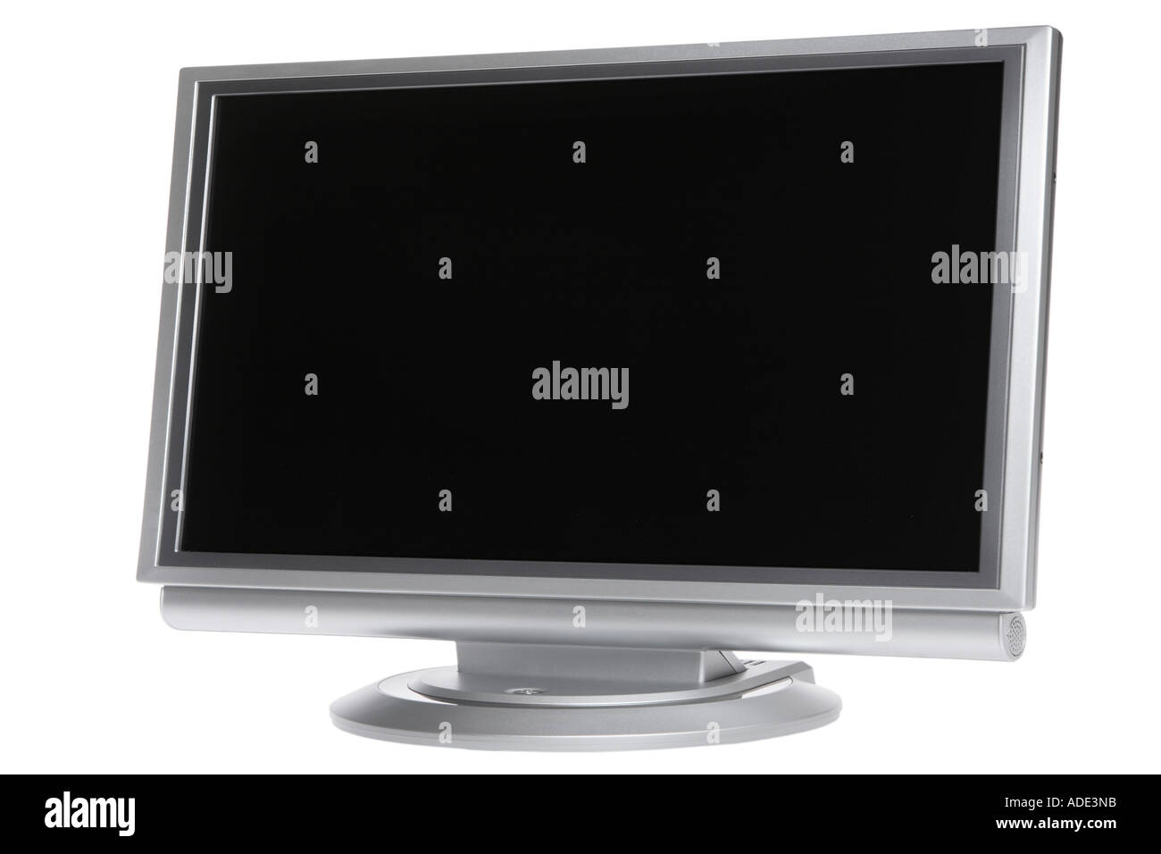 Widescreen LCD monitor - Stock Image