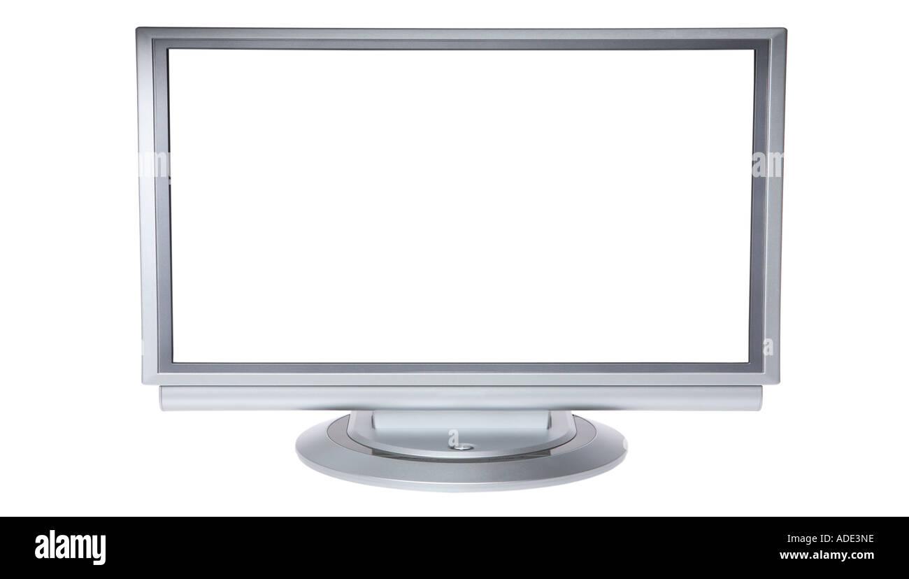 Widescreen Plasma Television - Stock Image
