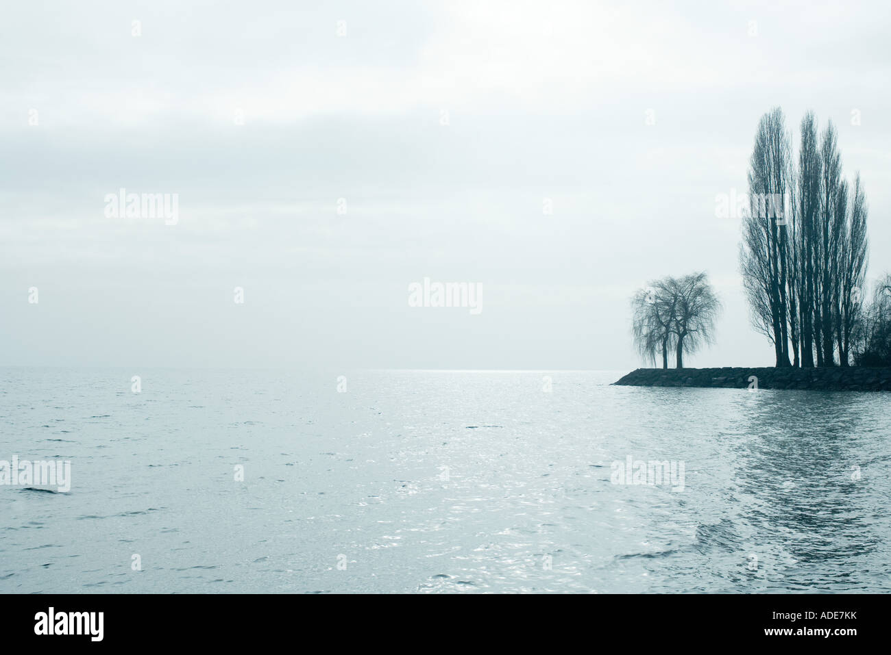 Lakescape - Stock Image