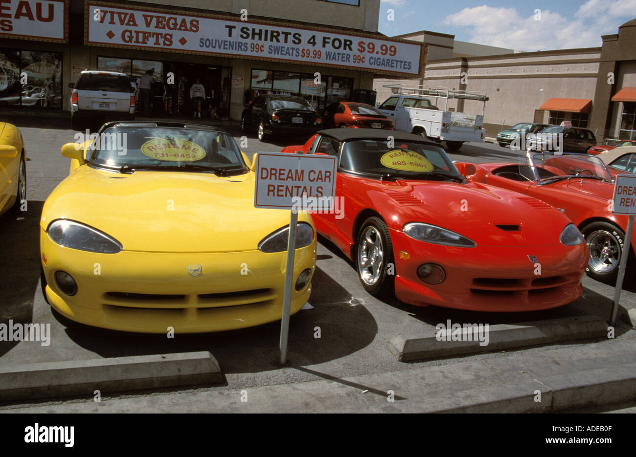 Las Vegas Dodge >> Las Vegas Nevada Usa Dodge Viper Car Automobile Supercar