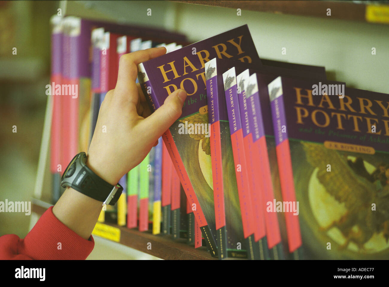 Harry Potter Books Young Readers : Harry potter books and children stock photos