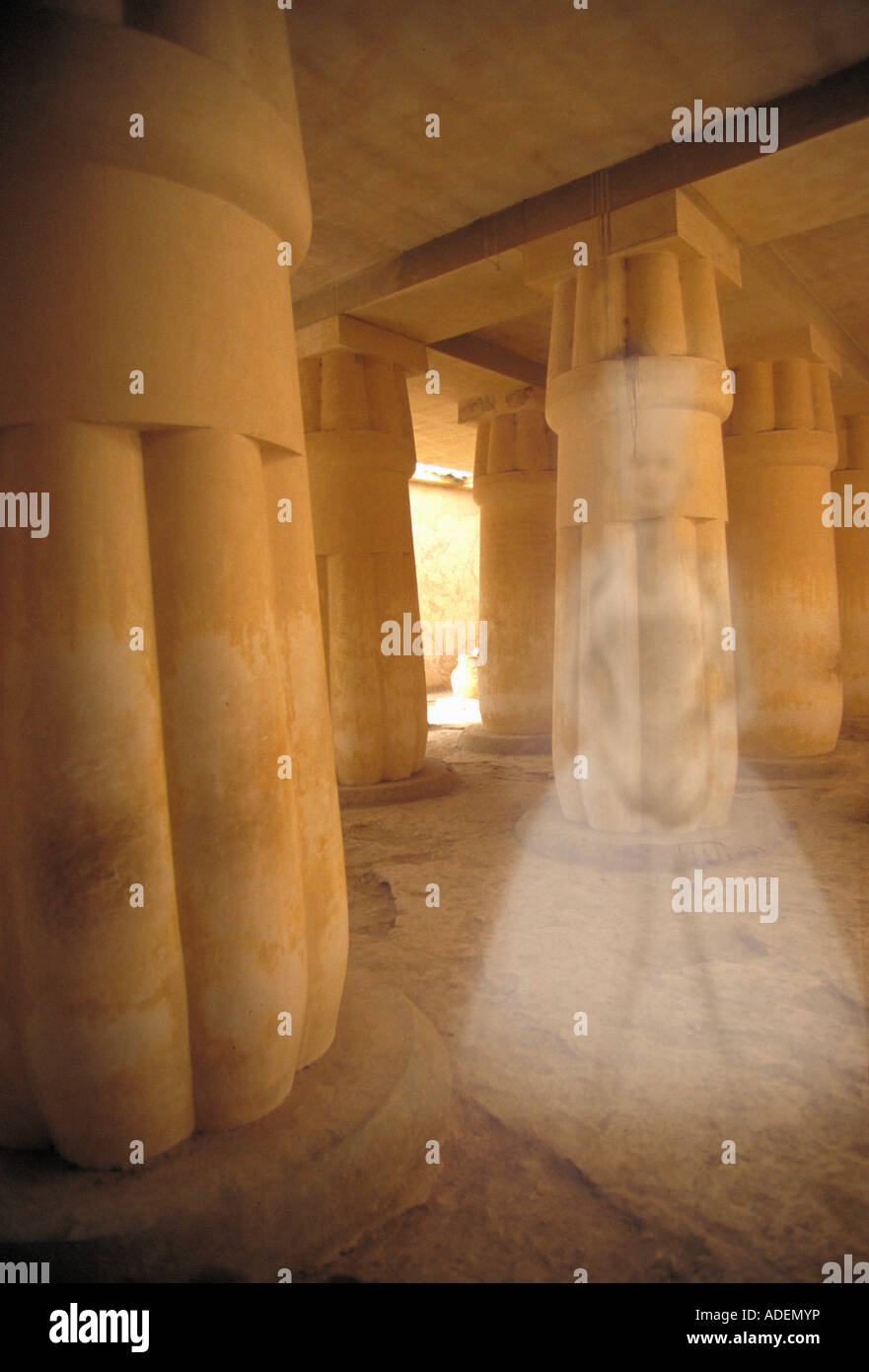 Ancient Egyptian Ghost - Stock Image