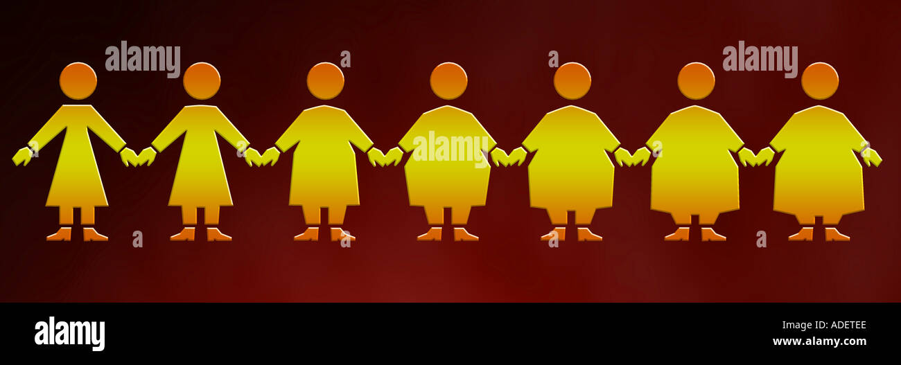graphic illustration of female obesity or diet the image