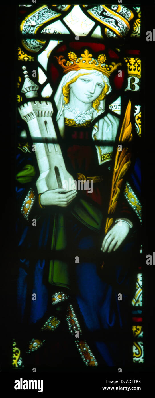Saint Barbara All Saints Parish Church Banstead Surrey - Stock Image