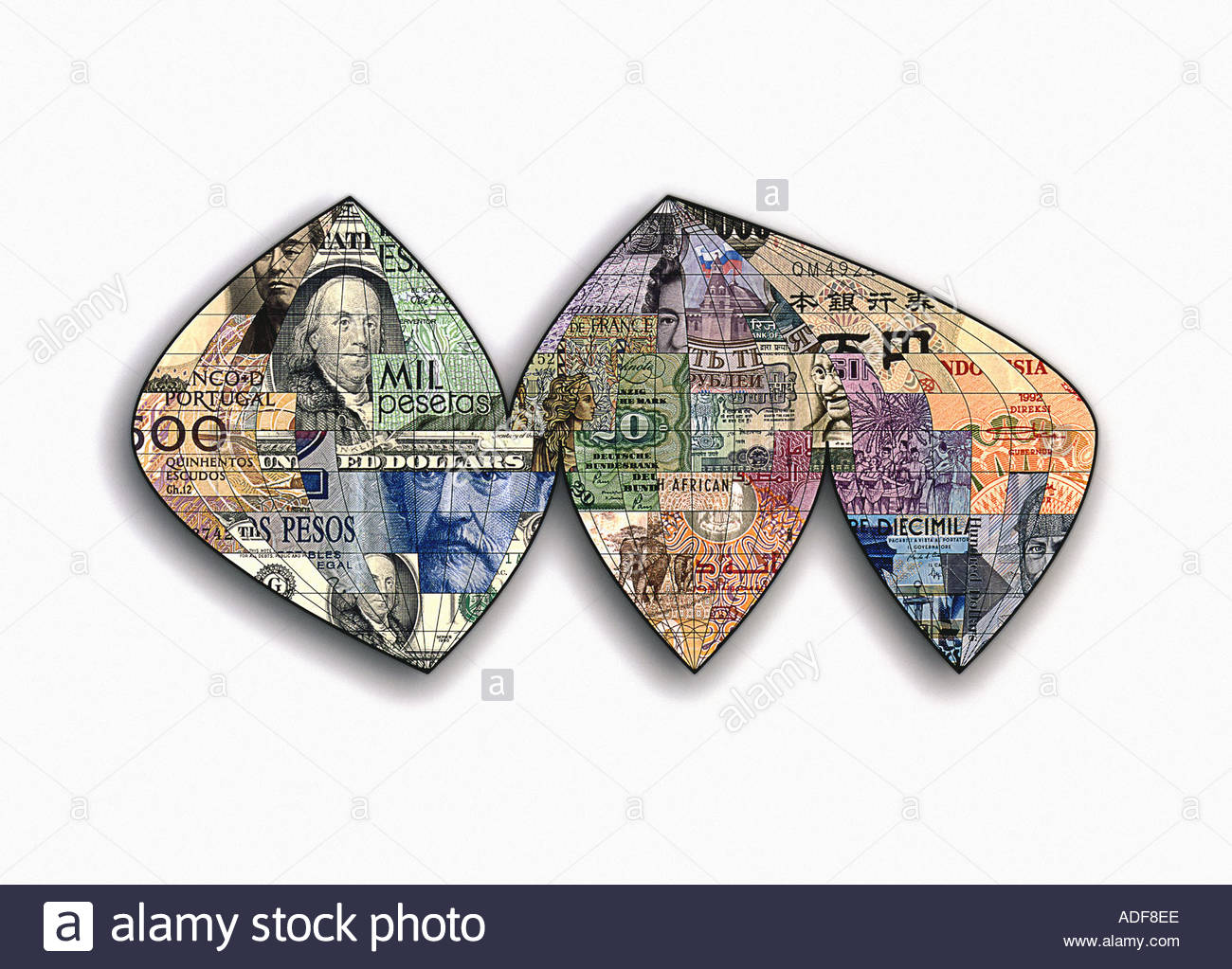 The financial world - Stock Image
