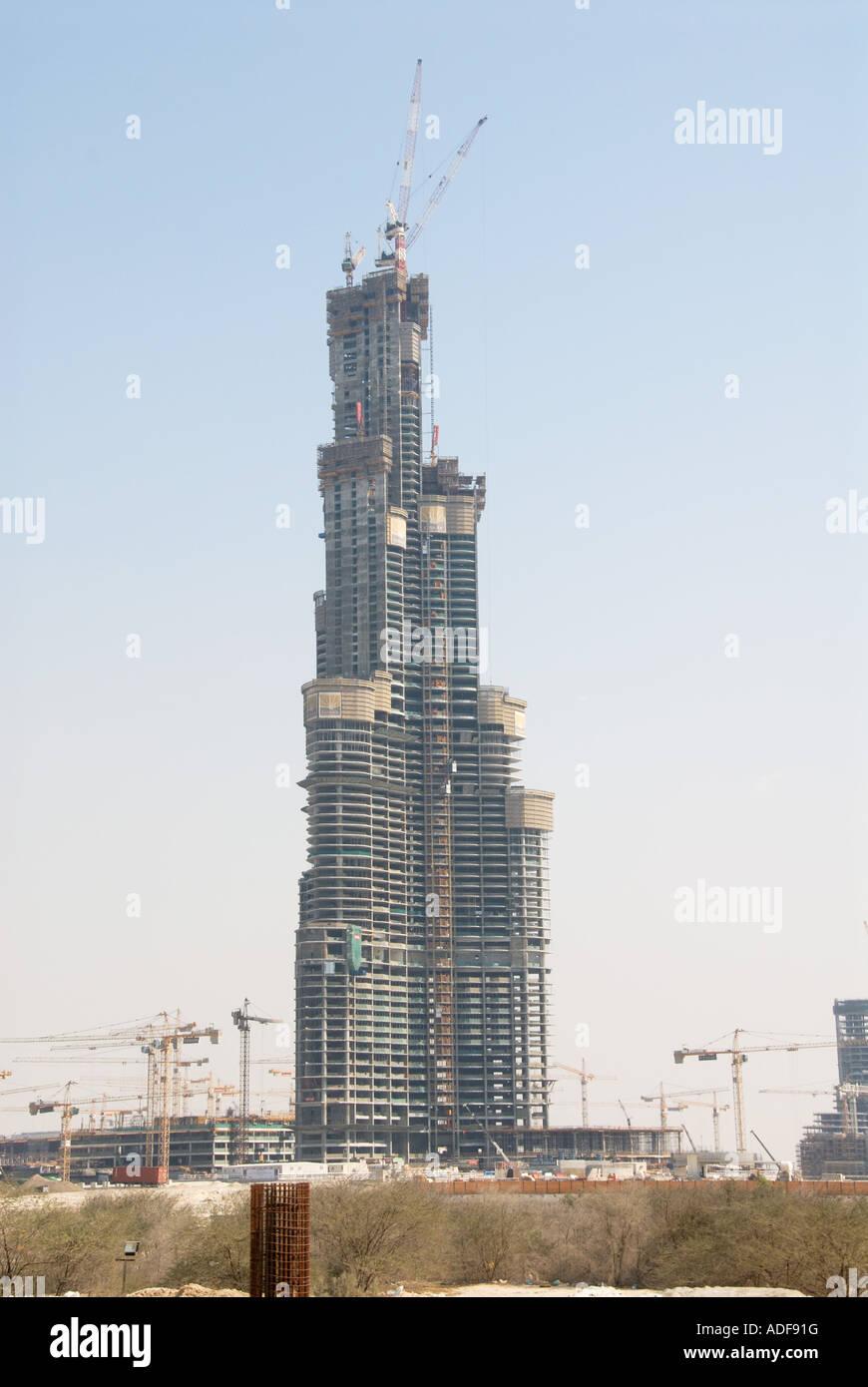 World S Tallest Building Under Construction Stock Photo Alamy