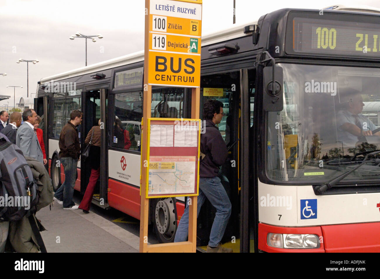How to get from Prague airport 62