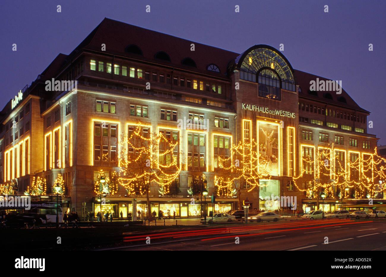 db2eba681ad344 Berlin. Kaufhaus des Westens. KaDeWe. Christmas time. Wittenbergplatz.  Tauentzienstrasse. Schoeneberg.