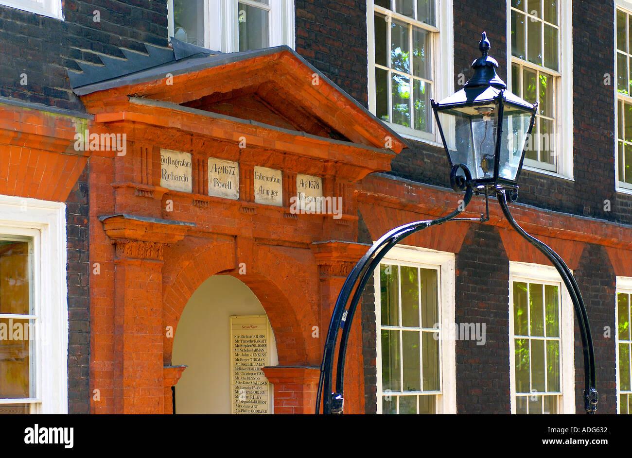 Kings Bench Walk Inns of Court London UK - Stock Image