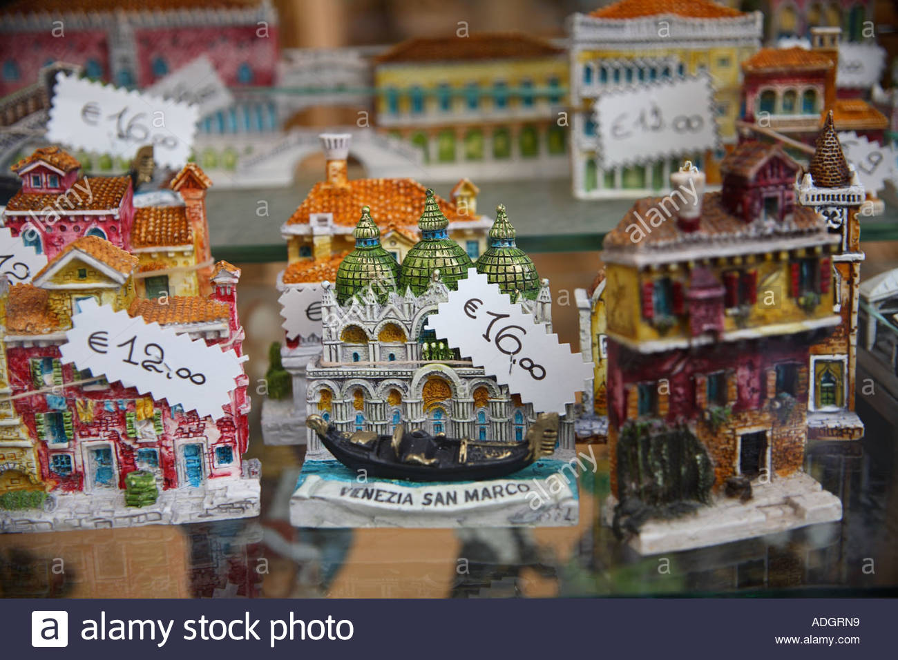 souvenirs of venice models of san marco basilica with