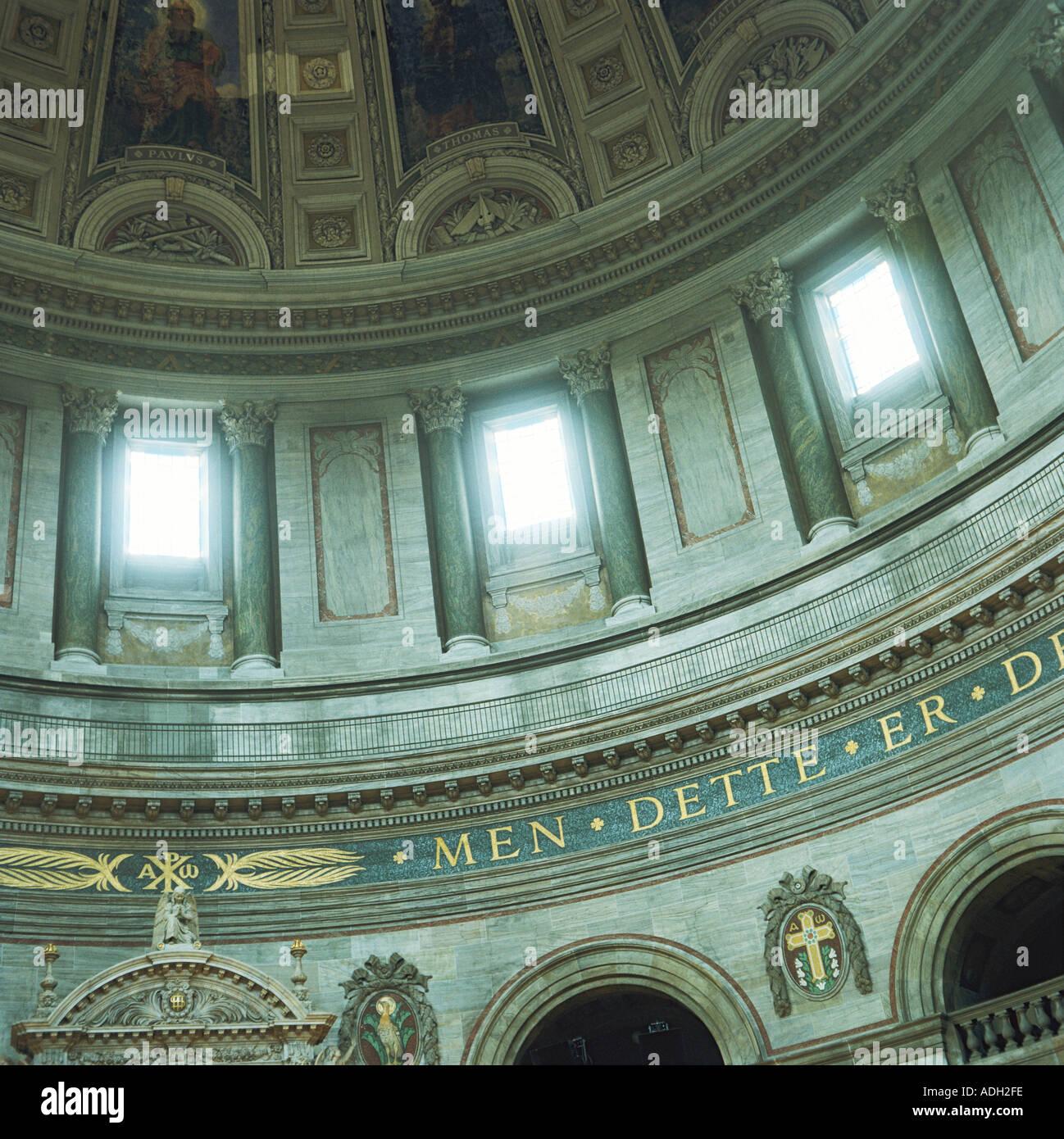 Frederikskirken aka The Marble Church Copenhagen Denmark - Stock Image