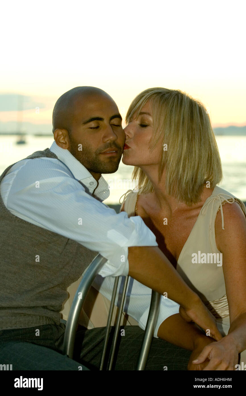 Interracial love story photo rather good
