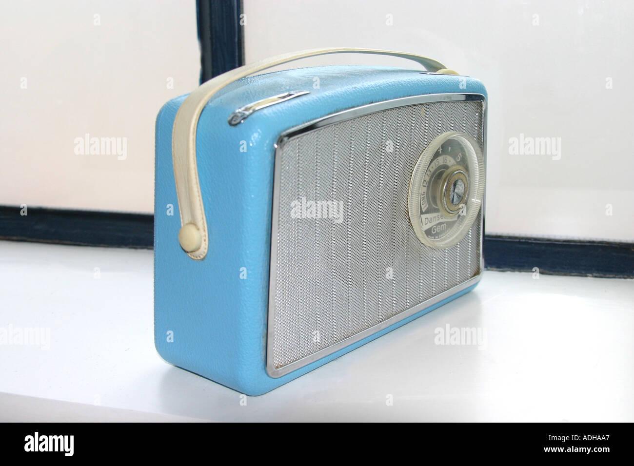 Retro Radio - Stock Image