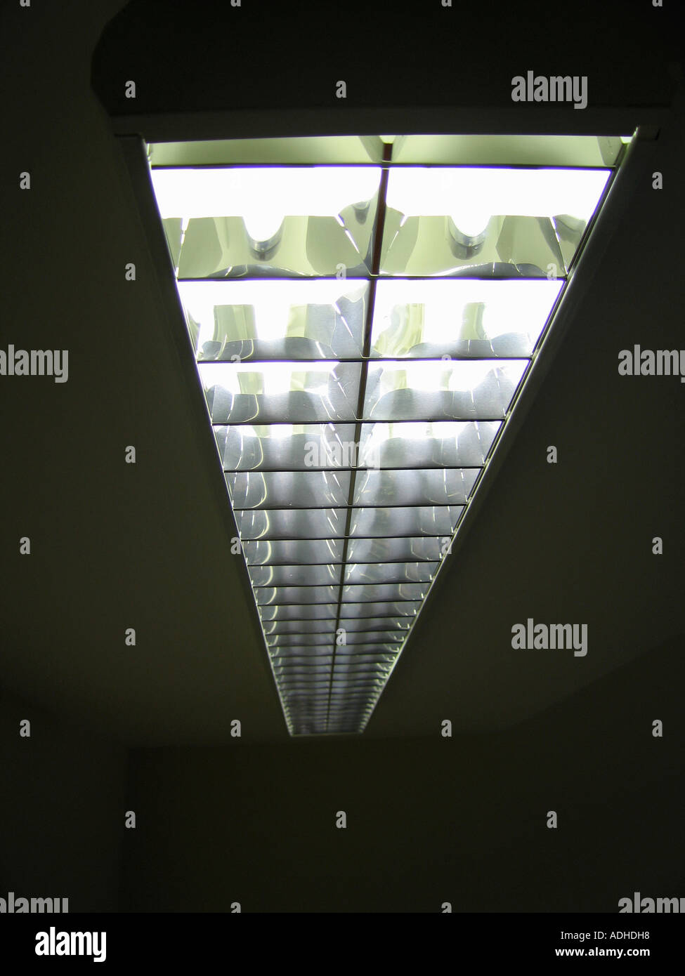Ceiling Surface Mounted Fluorescent Light Fitting Stock