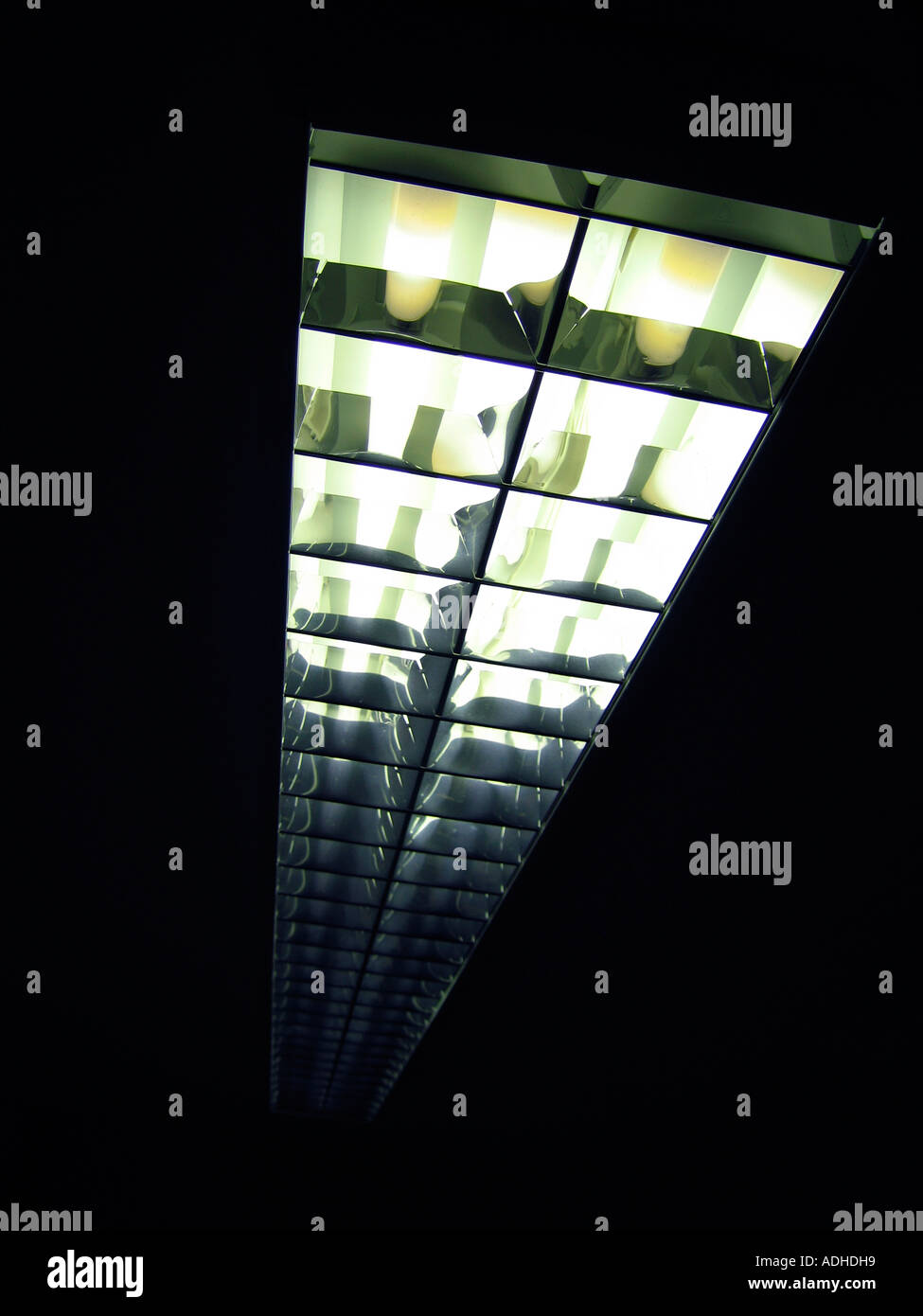 Surface Mounted Stock Photos Images Alamy 0800 Handyman Changing A Light Fitting Wiring Ceiling Fluorescent Image