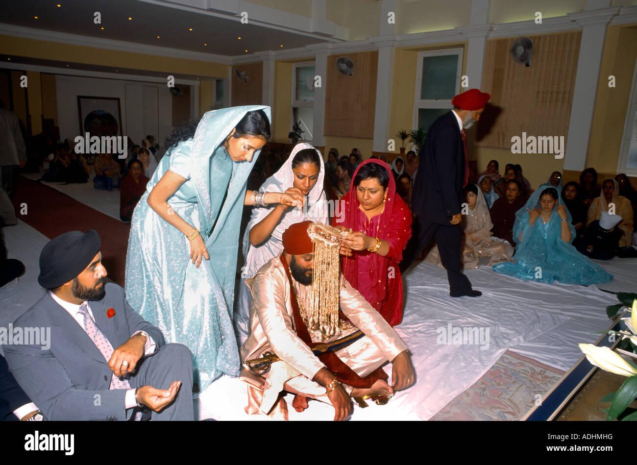 Sikh Gurdwara London Stock Photos & Sikh Gurdwara London