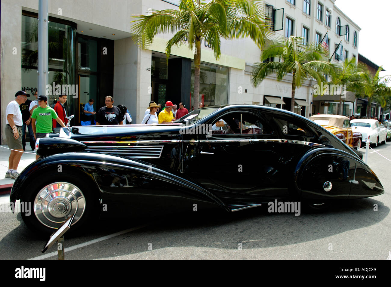 1925 rolls royce phantom i jonckheere aerodynamic coupe for Rolls royce of beverly hills