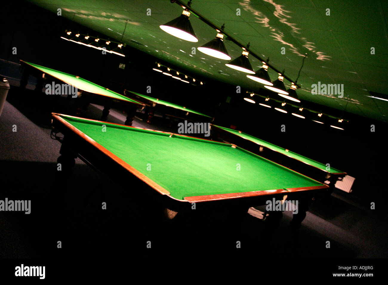 Snooker Hall Stock Photos Amp Snooker Hall Stock Images Alamy