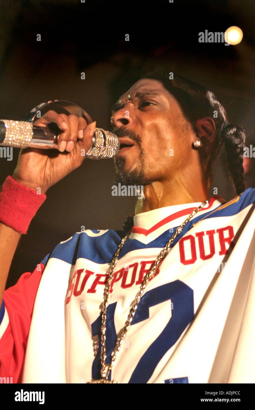 Rapper Snoop Dog In Concert