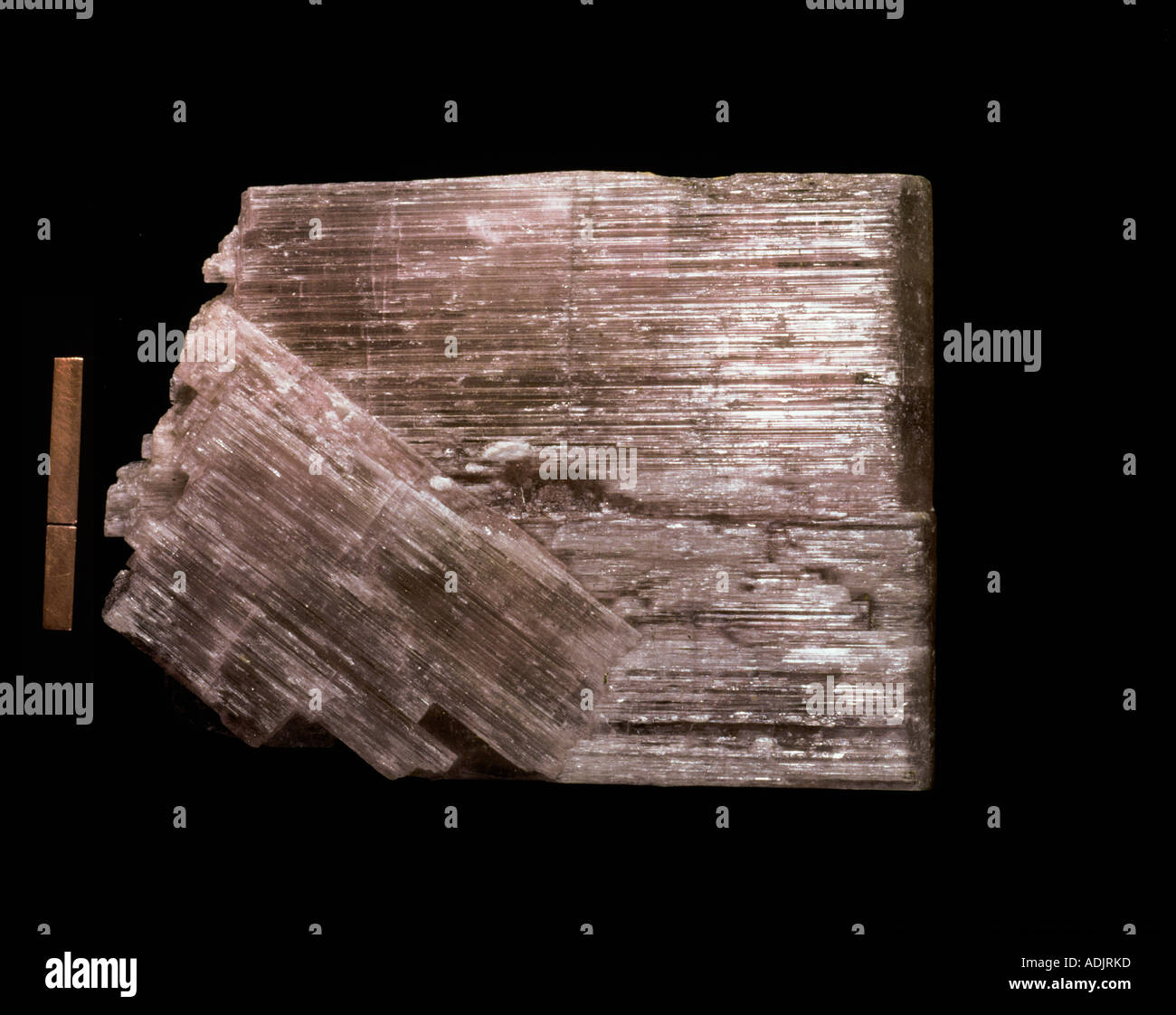 Anhydrite - Stock Image