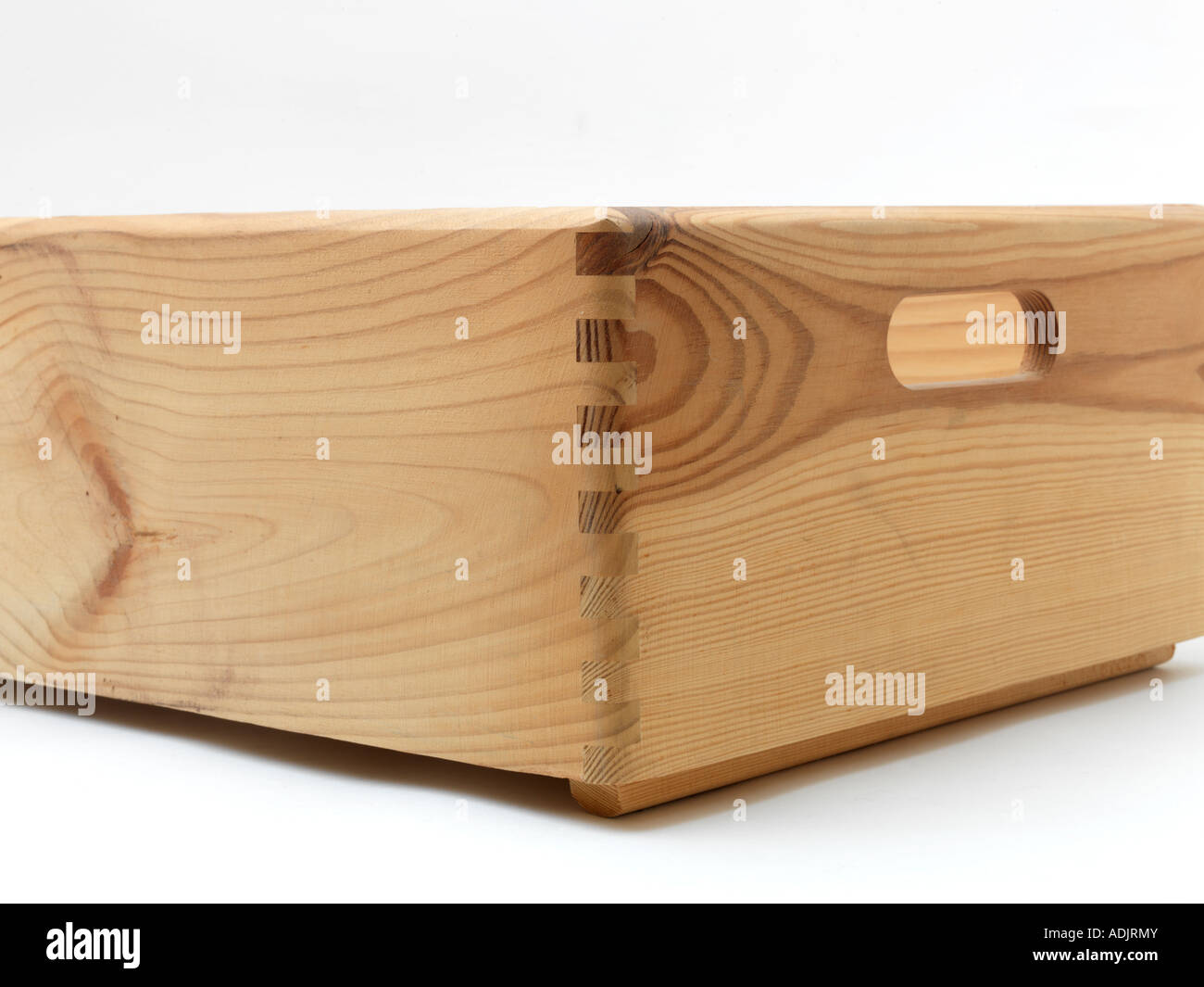 Dovetail Joint Wooden Box Stock Photo 13436330 Alamy