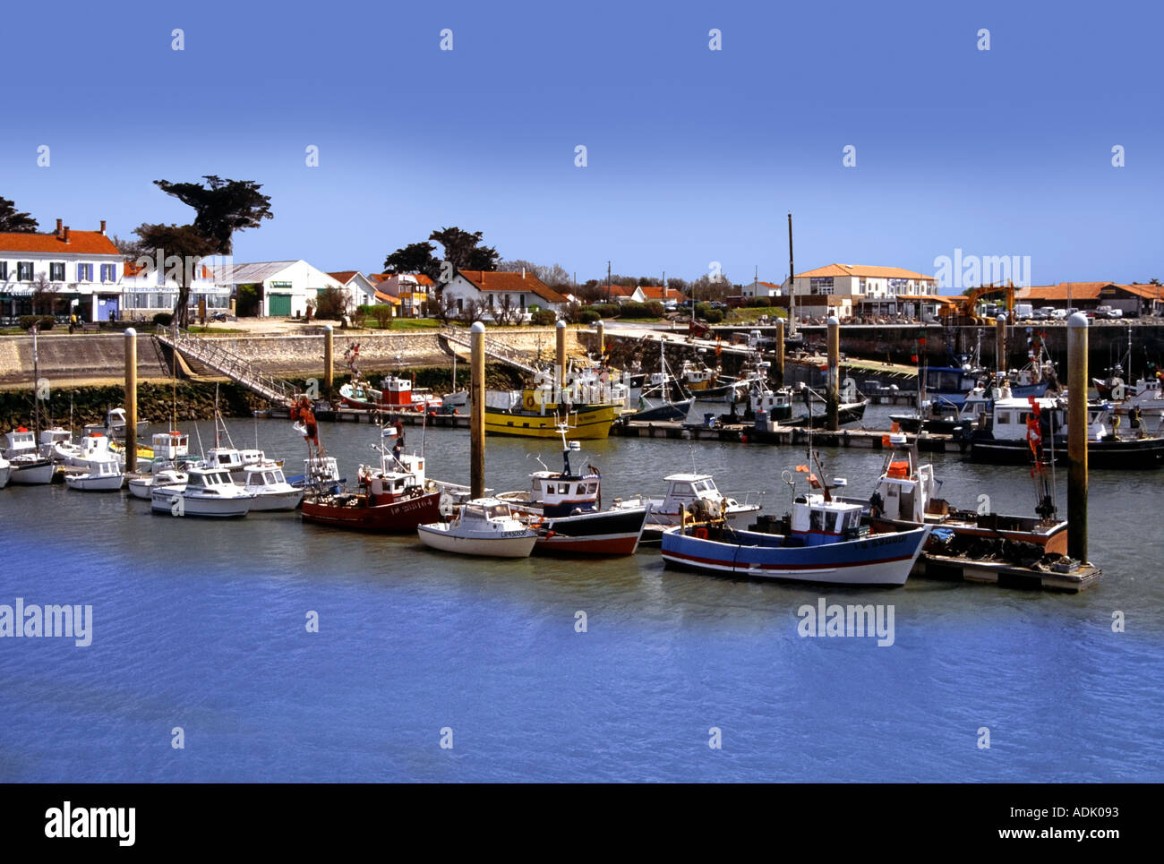 France Poitou Charentes Charente Maritime Ile D Oleron Port La Stock