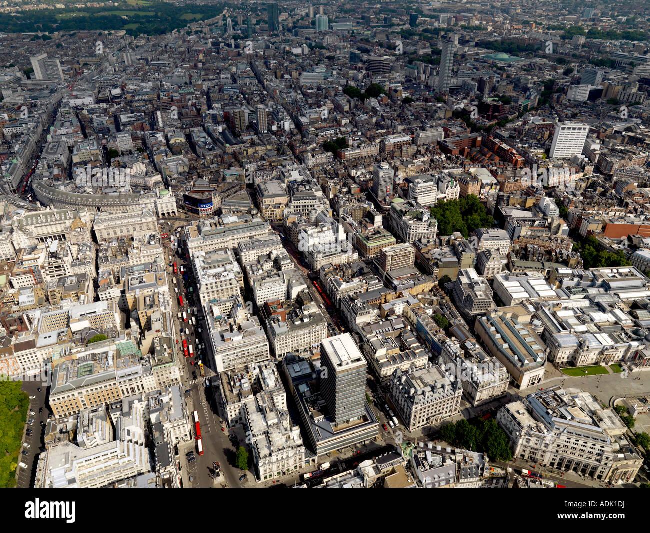 London Aerial Shot - Stock Image
