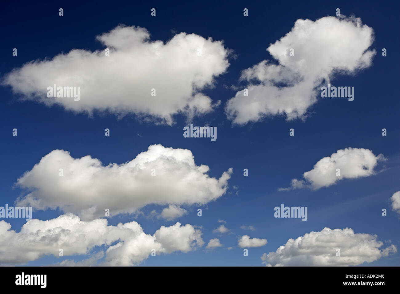 Clouds over carrizo Plain National monument CA - Stock Image