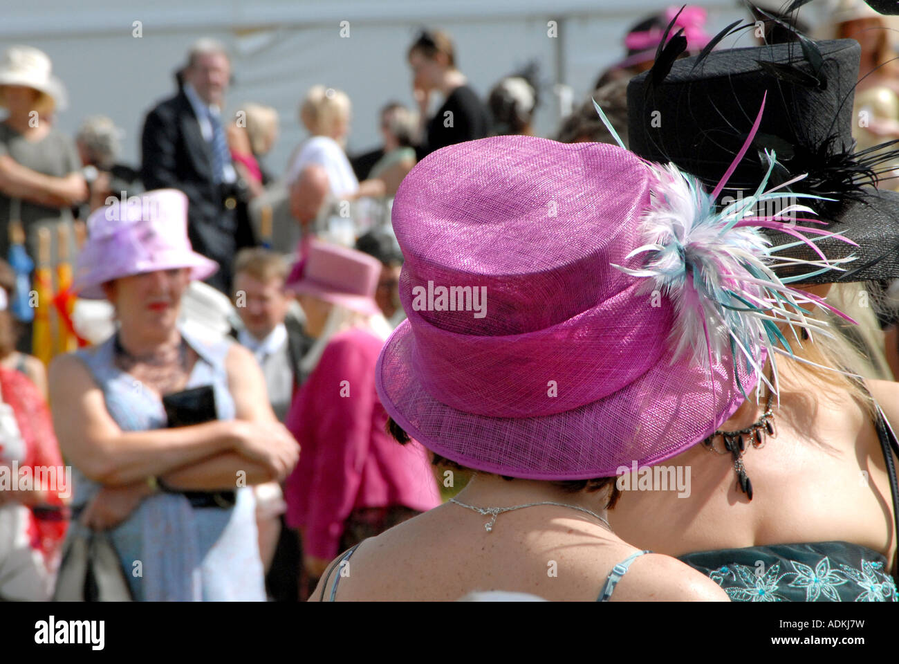Royal Ascot Ladies Day at the Royal Ascot Racecourse Thursday 21st June 2007 Stock Photo