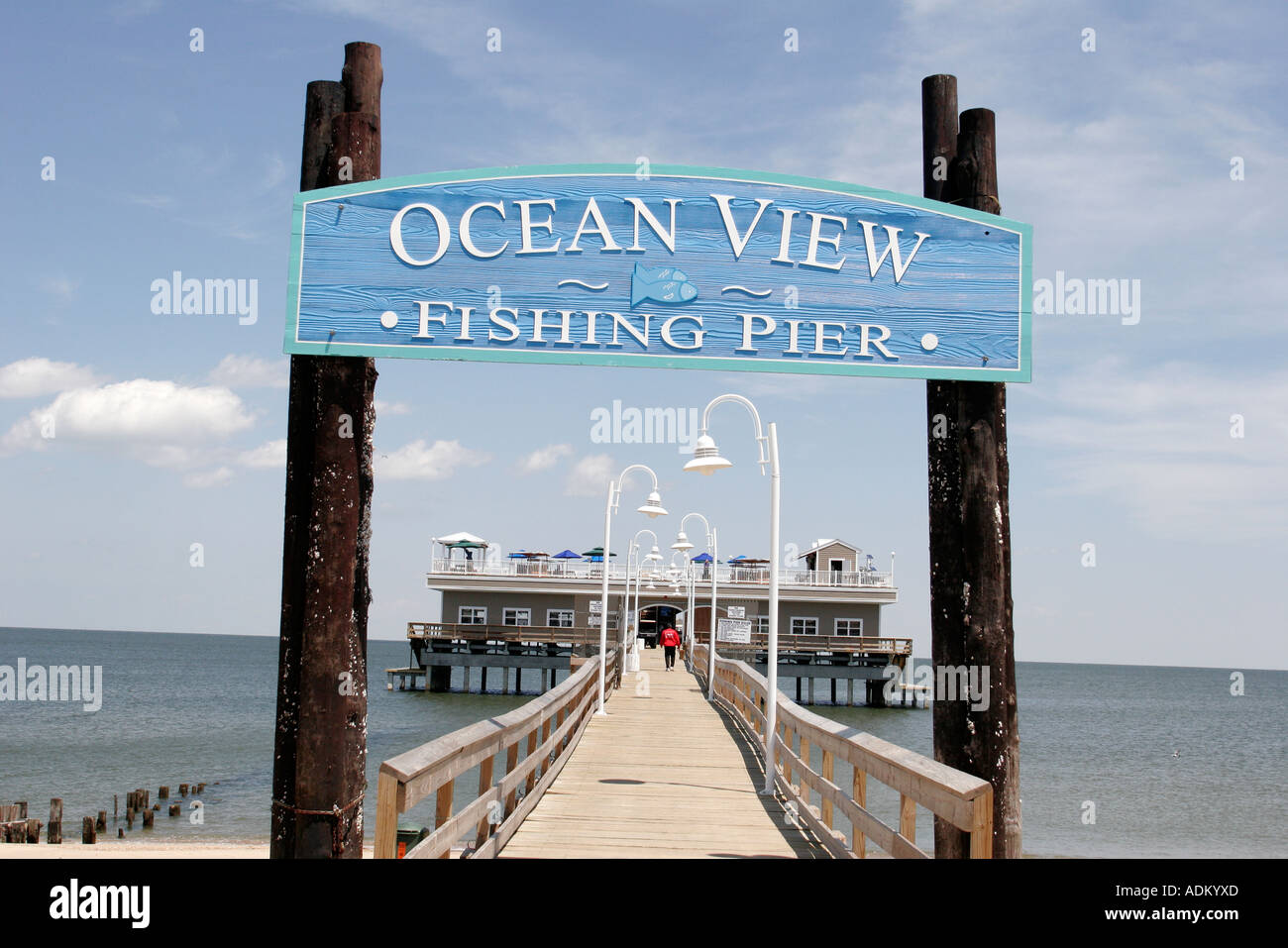 Norfolk Virginia Chesapeake Bay Ocean View Fishing Pier
