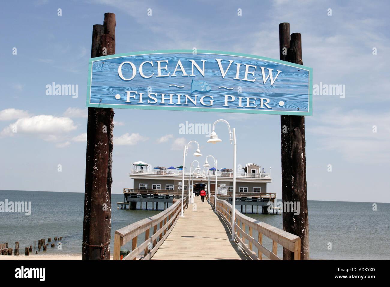 Norfolk virginia chesapeake bay ocean view fishing pier for Ocean view fishing pier