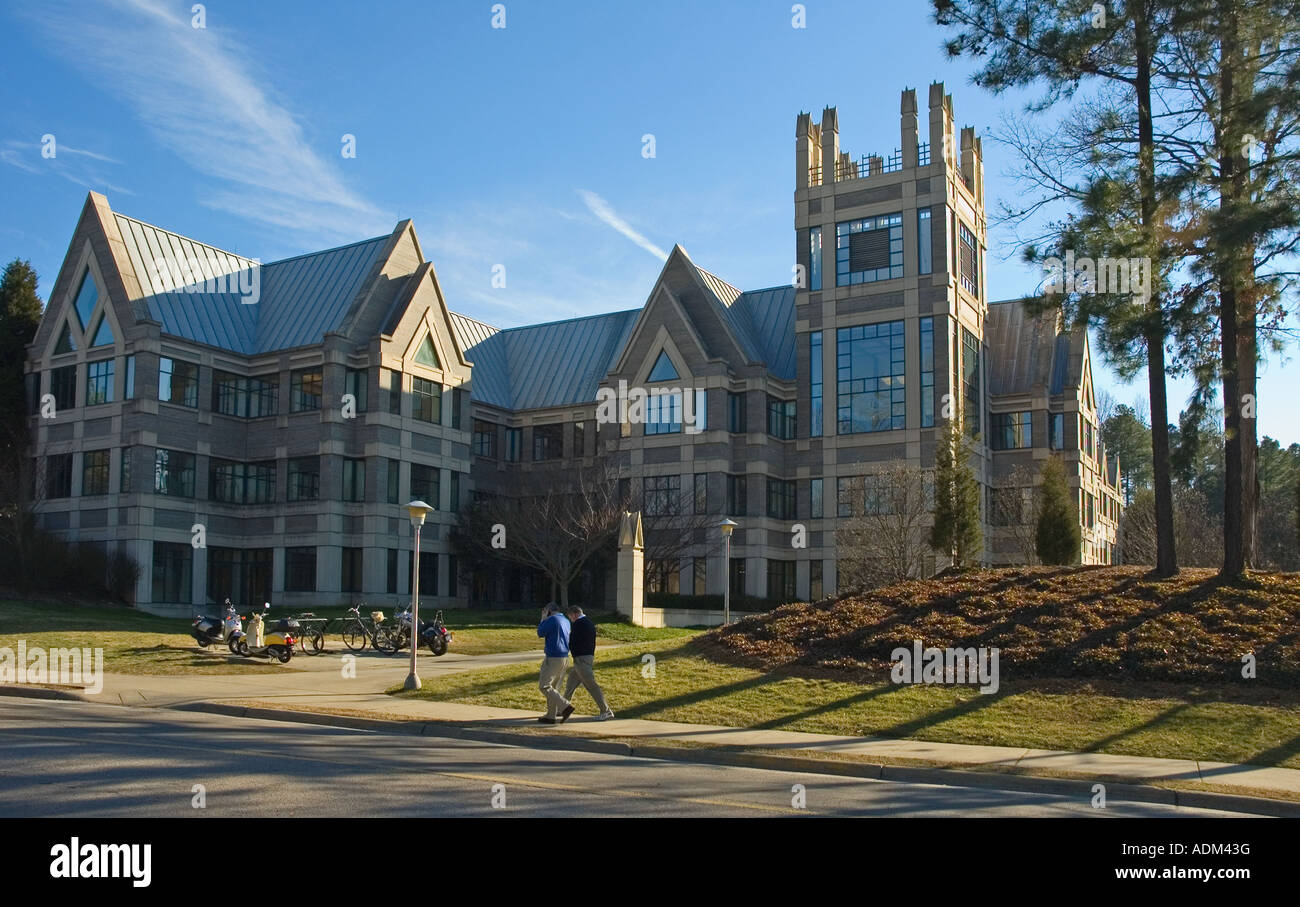 Sanford Institute of Public Policy at Duke University, Durham, North Carolina - Stock Image