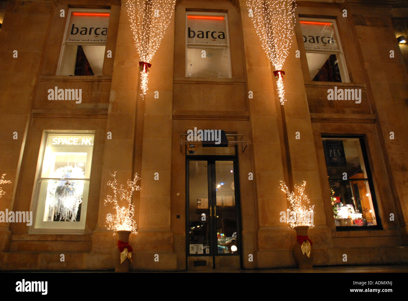 Barca, Tapas Bar,  Princes Square Centre, Buchanan St, Central Glasgow, Scotland. Christmas 2006. - Stock Image