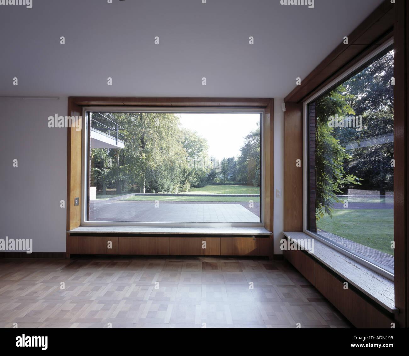 Krefeld, Haus Lange und Haus Esters, Innenraum von Haus Lange mit ...